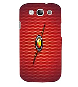 PrintDhaba Fire Ball D-1637 Back Case Cover for SAMSUNG GALAXY S3 (Multi-Coloured)