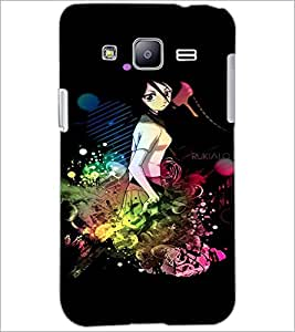 PrintDhaba Cute Girl D-3079 Back Case Cover for SAMSUNG GALAXY J2 (Multi-Coloured)
