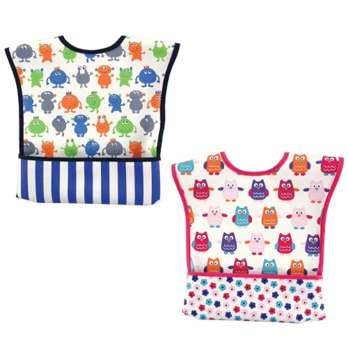 Luvable Friends Velcro Pocket Bib - 1