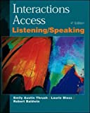 Interactions Access - Listening and Speaking (0071124012) by Thrush, Emily A.