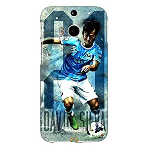 Jugaaduu Manchester City Back Cover Case For HTC One M8