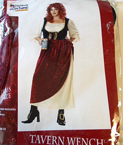 Tavern Wench Adult Costume Plus Size 16-22