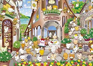 Hello Kitty's Bistro 500 piece puzzle [05-892] (Japan Import) by Yanoman
