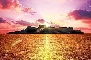 1000ピース ジグソーパズル めざせ!パズルの達人 夕暮れの軍艦島-長崎(50x75cm)