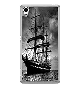 ifasho Ship in See Back Case Cover for Sony Xperia M4 Aqua