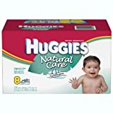 Huggies Natural Care Fragrance-Free Wipes- 576 ct.