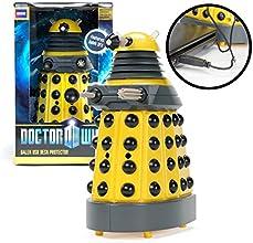 Doctor Who Dalek - Yellow USB Patrol Figure- Motion Detectors, Lights, SFX- Exterminate Desk Thieves