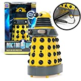 Doctor Who Dalek - Yellow USB Patrol Figure- Motion Detectors, Lights, SFX- Exterminate Desk Thieves