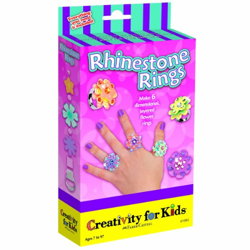 Creativity for Kids Rhinestone Rings - 1