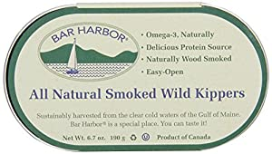 Bar Harbor Smoked Wild Kippers, 6.7 Ounce (Pack of 12)