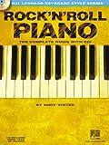 Hal Leonard Keyboard Style Series : Rock'N'Roll Piano Complete Guide + Cd