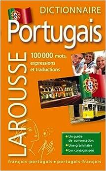 Petit Dictionnaire Larousse Francais Portugais et