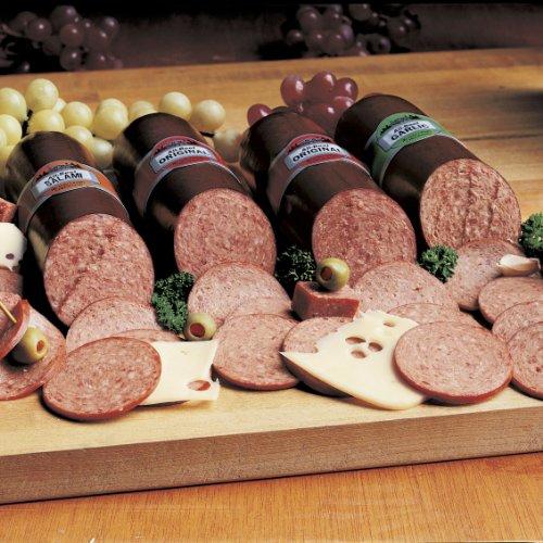 Wisconsin Cheeseman Savory Sausage Packs 4-Pack