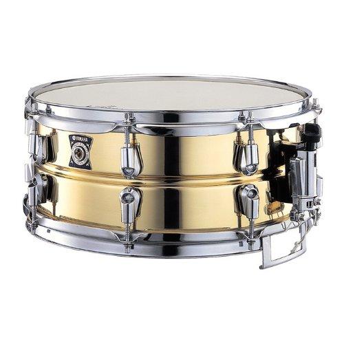 yamaha metal snare series sd 4355 14 inch snare drum brass smaononaeraa. Black Bedroom Furniture Sets. Home Design Ideas