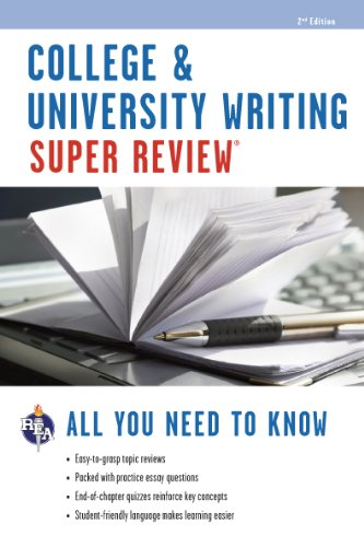 College & University Writing Super Review (Super Reviews Study Guides)