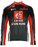 自転車ウェア 2010 Caisse d'epargne ケースデパニュー 長袖ジャージ ナリーニ Mサイズ