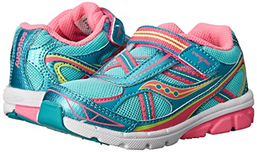 Saucony Girls Baby Ride Sneaker (Little Kid/Toddler ...