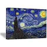Wieco Art - Canvas Print for Van Gogh Oil Paintings Modern Canvas Wall Art for Home Decoration