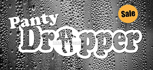 Panty Dropper Car Decal _sick JDM race drift stance funny vinyl bumper Sticker A4 (Sick Decals compare prices)