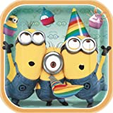 "Despicable Me 2 9"" Square Plates, 8-Piece"