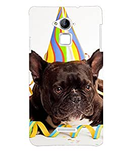 PRINTSHOPPII LAZY DOG Back Case Cover for Coolpad Note 3