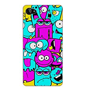 Happoz Lenovo Zuk Z2 Cases Back Cover Mobile Pouches Shell Hard Plastic Graphic Armour Premium Printed Designer Cartoon Girl 3D Funky Fancy Slim Graffiti Imported Cute Colurful Stylish Boys D002