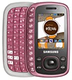 Samsung B3310 Pink Virgin Mobile Phone QWERTY Slider Text phone with 2mp Camera - UNLOCKED