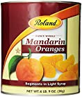 Roland Mandarin Orange Segments in Light Syrup, 105-Ounce Can