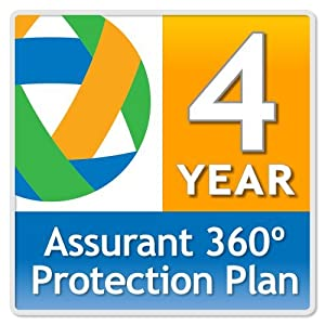 Assurant 360º 4-Year PC Peripheral Protection Plan ($0-$49.99)