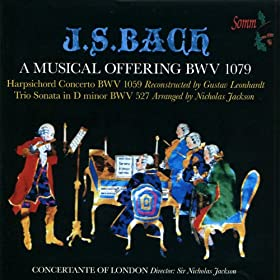 Musical Offering BWV 1079: Canon a Due