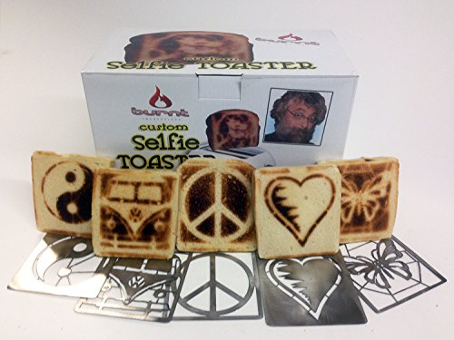 Selfie Toaster Peace, Love & Microbus Bundle (Burnt Toaster compare prices)