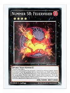 DUEA-DE094 Nummer 58: Feuervisier 1. Auflage + Free Original Gwindi Card-Sleeve