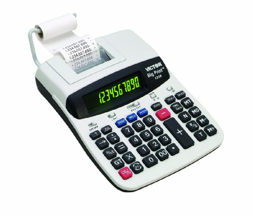 Victor Big Print Commercial Thermal Printing Calculator 1310