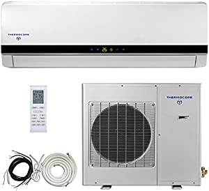 thermocore systems 16 seer 3 ton ductless mini split air conditioner system heat