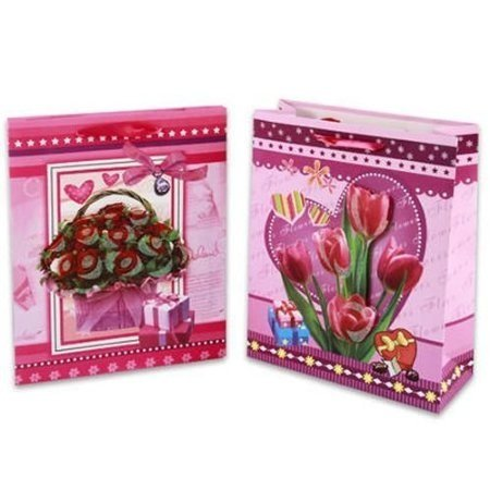 Valentine's Day Pop-Up Flowers Gift Bag (Styles May Vary)