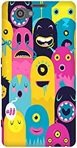 The Racoon Lean Monster Oye! hard plastic printed back case / cover for Sony Xperia Z1 Compact