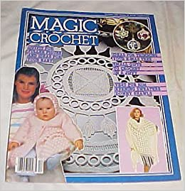 Magic Crochet Magazine December 1984 Number 33: Les Editions De Saxe
