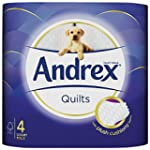 Andrex Quilts Toilet Tissue 160 Sheet...