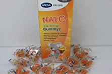 buy Mega We Care Nat C Yummy Gummyz 50 Pieces
