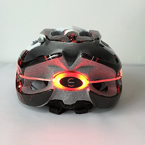 SUNVP-Professional-Bicycle-Cycling-Helmet-More-Safty-and-Cool-Ultralight-Adjustable-Bike-Helmet-with-360-Degrees-Luminous