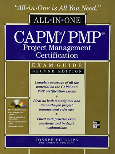 CAPM/PMP Project Management Certification All-in-One Exam Guide with CD-ROM, Second Edition (Pmp Package compare prices)