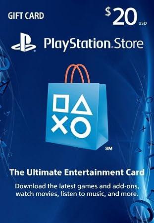 $20 PlayStation Store Gift Card - PS3/ PS4/ PS Vita [Digital Code]