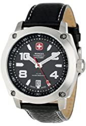 Wenger Men's Outback Watch with Leather Bracelet