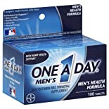 One A Day Complete Multivitamin, Men's Health Formula, 100 tablets
