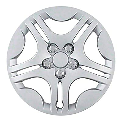 2004-2008 Chevy Malibu 15 inch Silver Clip On Hubcaps (Complete set of 4)