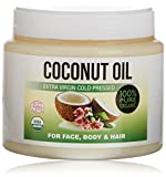 Kaltgepresstes extranatives Kokosöl für die Körper-,...