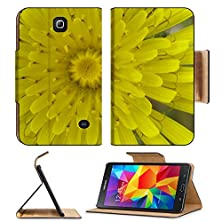 buy Samsung Galaxy Tab 4 7.0 Inch Flip Pu Leather Wallet Case Yellow Wild Flower Image 25950762 By Msd Customized Premium
