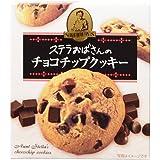 森永 ステラおばさんのチョコチップクッキー 4枚 フード お菓子 焼き菓子 [並行輸入品]