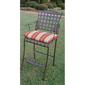 "Amazon Outdoor Bistro Chair Cushion Size 2"" H x 20"
