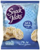 Snack-A-Jacks Salt and Vinegar Rice Cakes 26 g (Pack of 20)
